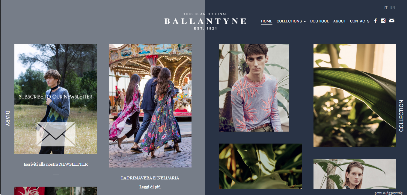 Beautiful Fashion Website Examples