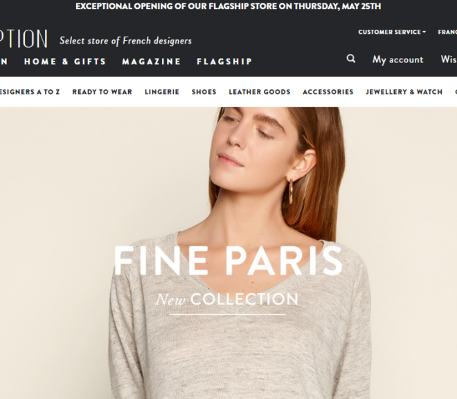 24 Beautiful Fashion Website Examples