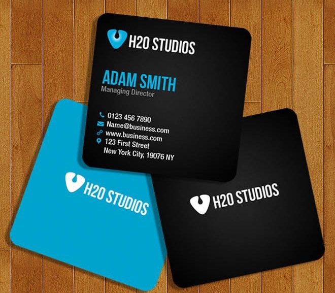 20 Great Free PSD Business Card Templates