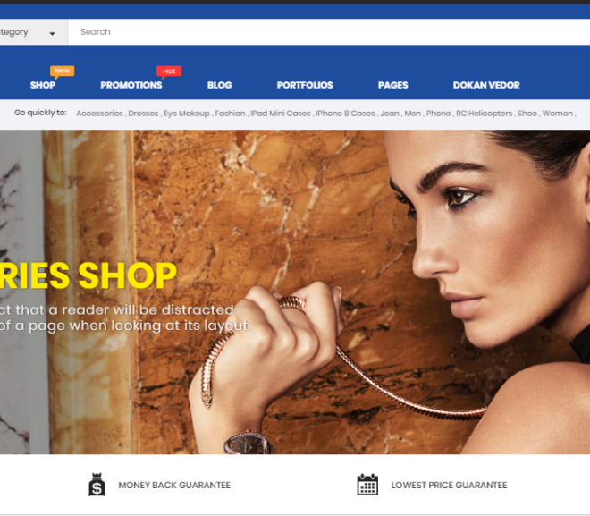 20 Premium Fashion WordPress Themes 2018