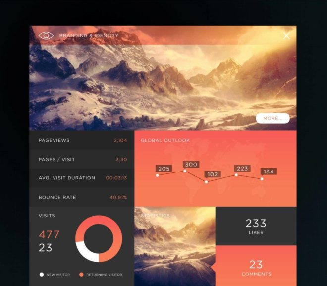 20 Best Dashboard UI Designs