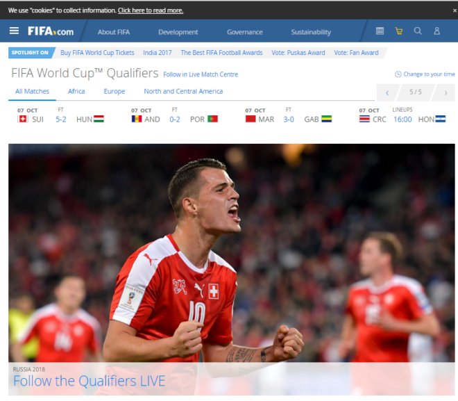 18 Perfectly Designed Sports Websites Examples