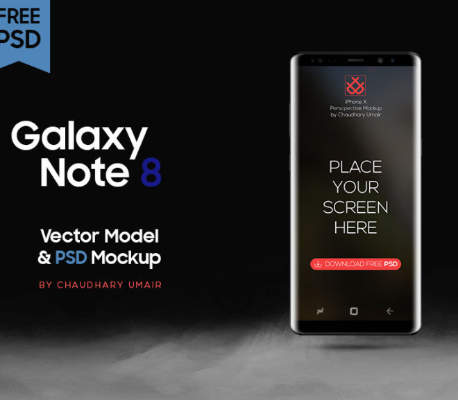 20 Best Samsung Galaxy Note 8 Mockups