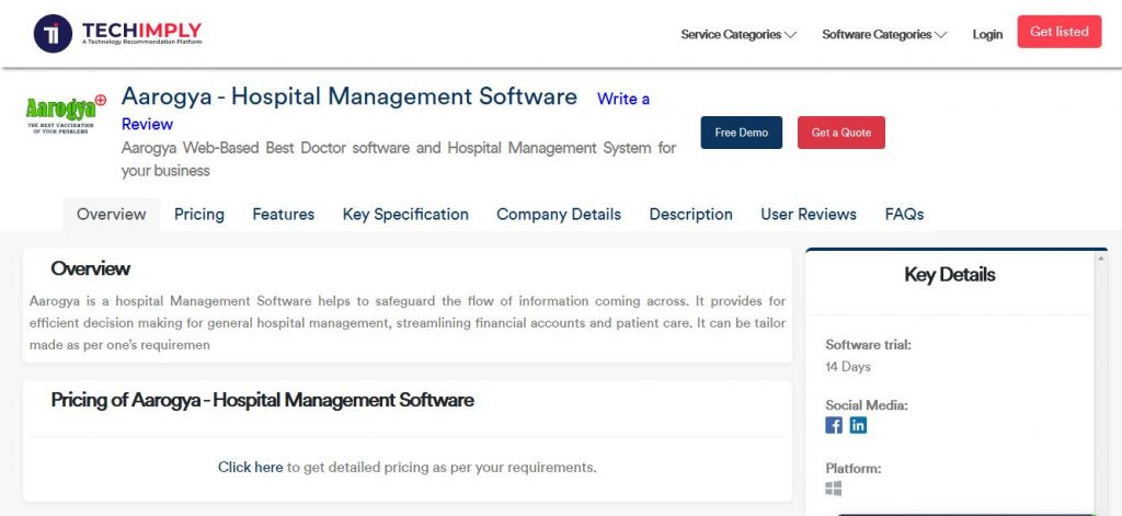 Hospital Management Softwares