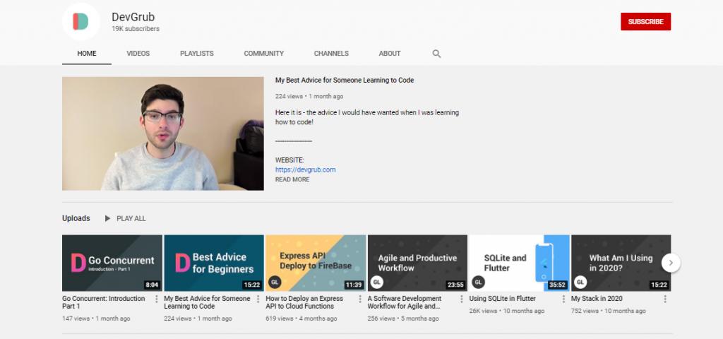 YouTube Channels For Learning Basic Frontend Development