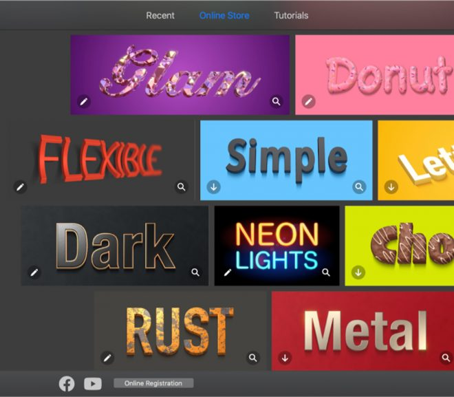 Text Effects and Typography Graphics