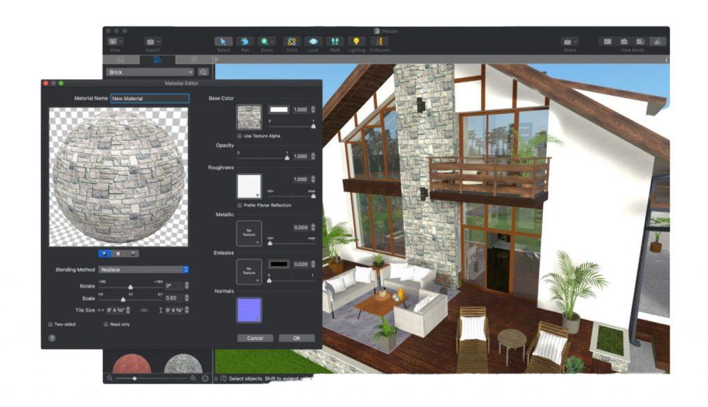 Live Home 3D Materials